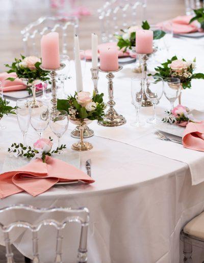 Décoration de mariage à Deauville, au Domaine les Planches - Des tables décorées avec style, par CREA EVENT, Décoratrice UFDI à Honfleur, Deauville, Caen - 14