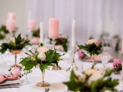 Décoration de mariage au Domaine les Planches à Deauville