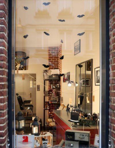 Décoration vitrine Barbier Honfleur - Vue d'ensemble, par CREA DECO, Décoratrice UFDI à Honfleur, Deauville, Caen - 14