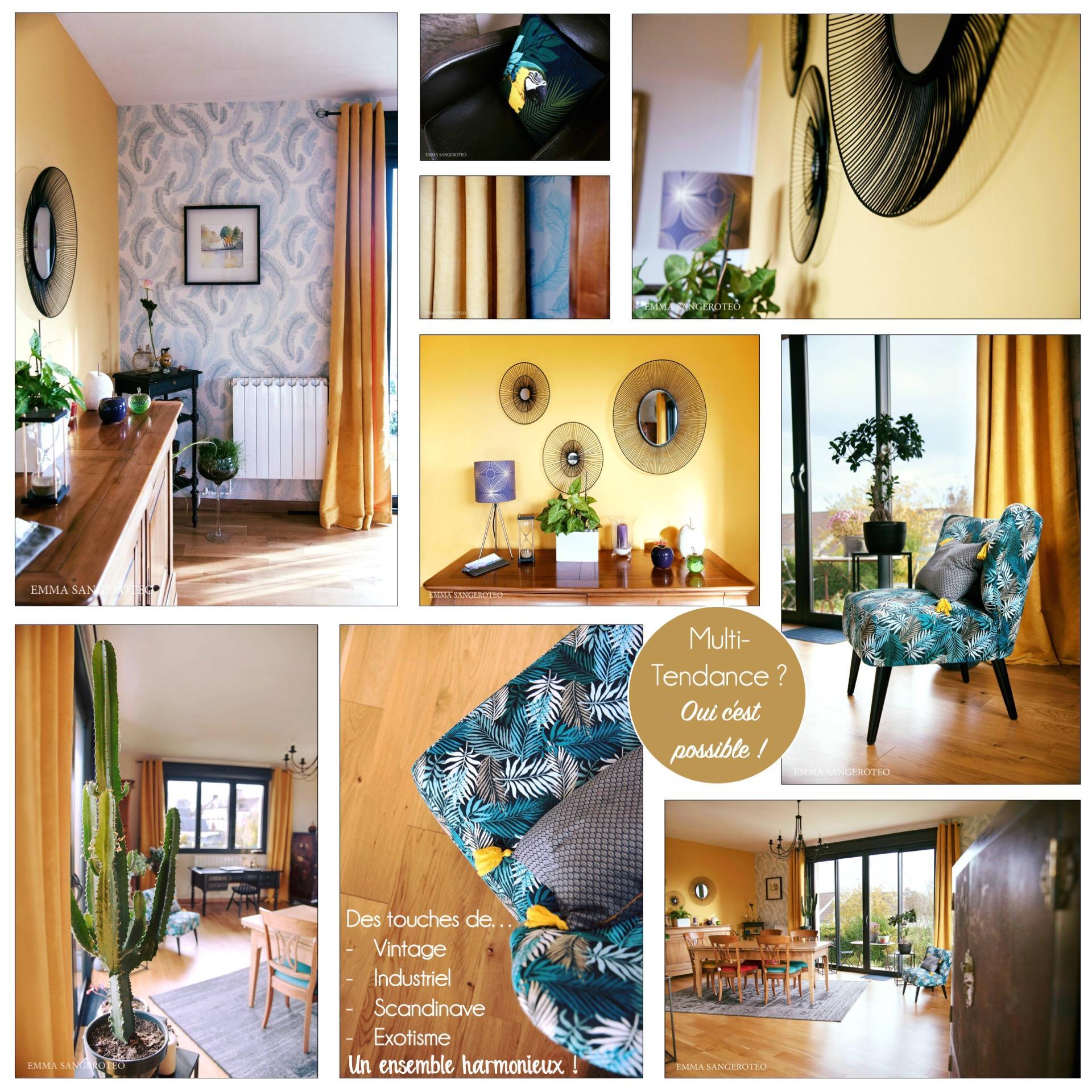 Planche décoration multi-tendance