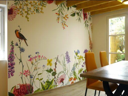 Rénovation et décoration d'une maison de campagne à Honfleur